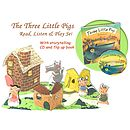Three Little Pigs Read, Listen And Play Set