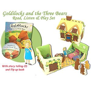 Goldilocks Read, Listen And Play Set - books