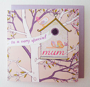 'Birdhouse' Mother's Day Card