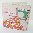 'Sewing Machine' Mother's Day Card