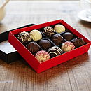 Chocolate Dipped Cake Balls Medium Box