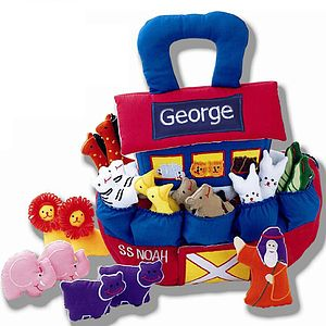 Noah's Ark Personalised - soft toys & dolls