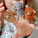 Finished Finger Puppets