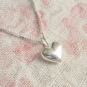 Silver Heart Pendant - necklaces & pendants