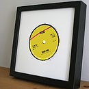 Personalised Record Label Print