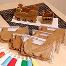 Gingerbread Train Decoration Kit
