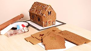 Birthday Gingerbread House Decoration Kit - food & drink gifts