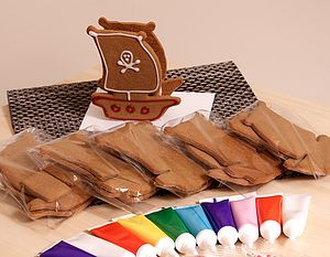 Gingerbread Ship Decorating Kit - goodie bags & gifts for goodie bags