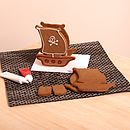 Gingerbread Ship Decorating Kit