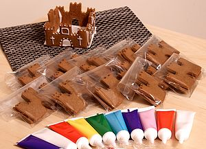 Gingerbread Castle Decorating Kit - food & drink gifts
