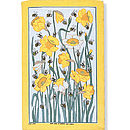 Daffy Bees Linen Tea Towel