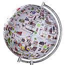 Illustrated Amsterdam Globe
