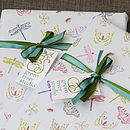 We can gift wrap the inkless wipe & print kit so you may gift it in lieu of the finished item.