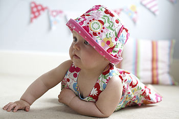 Child's Reversible Sun Hat