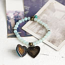 Handmade Heart Locket Bracelet