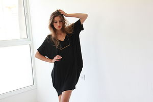 T Shirt Dress/Tunic Top - swimwear & beachwear