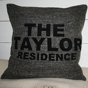 Family Residence Cushion Cover - cushions