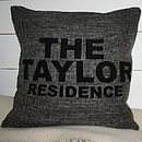 Family Residence Cushion Cover