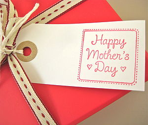 'Happy Mother's Day' Gift Tag
