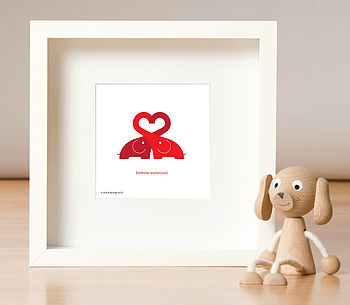 Personalised Elovephant Print