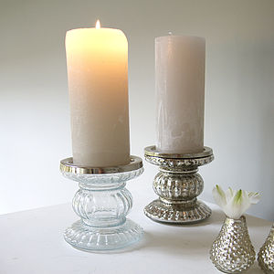 Pillar Candle Holder - candles & candlesticks