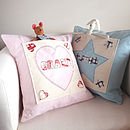 Personalised Girl's Pocket Cushion
