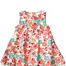 Galaias Dessert Flower Spencer Dress