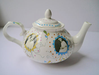 Personalised Photo Bone China Teapot