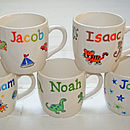 Personalised Boy's Mug