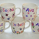 Personalised Girl's Mug