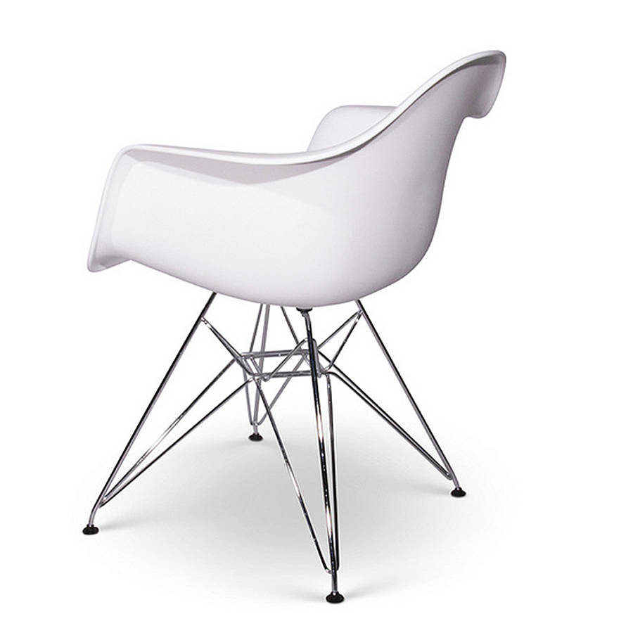 chair eames style chrome eiffel dining chair by ciel  : originaleames style chrome eiffel dining chair from www.notonthehighstreet.com size 900 x 900 jpeg 37kB