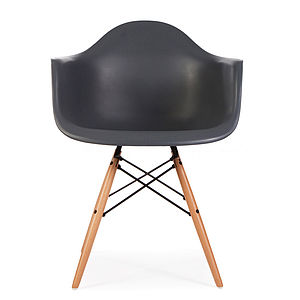 Chair, Eames Style, Dining Armchair - living room