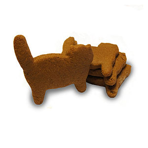 Ginger Cat Dog Biscuits - dogs