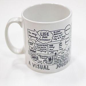 'A Visual Journey Through Fatherhood' Mug - tableware