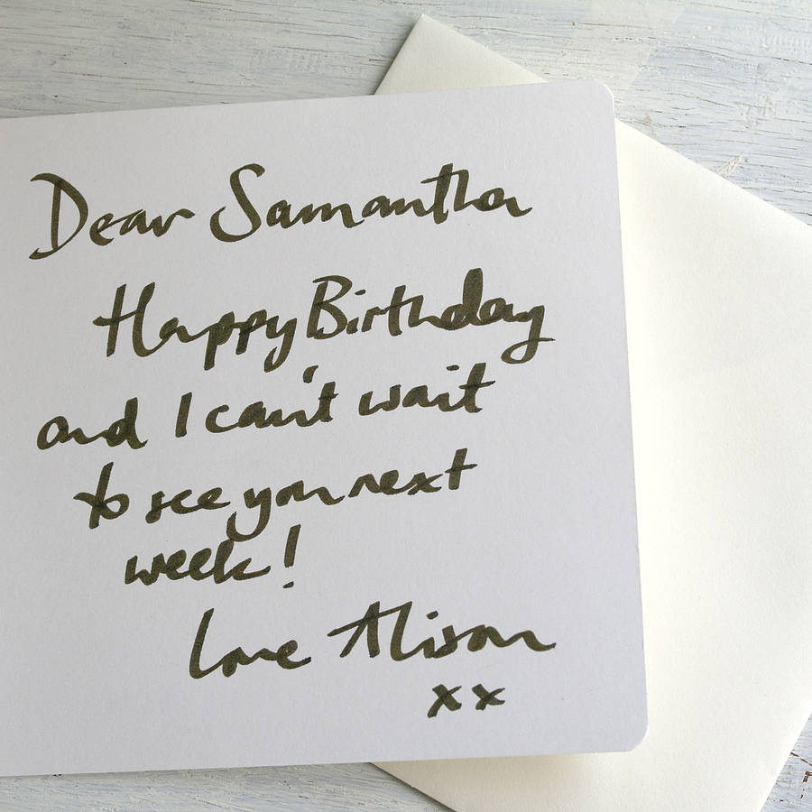 Belated Birthday Card By Inkpaintpaper Notonthehighstreet Com