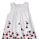 Gerda Spencer Cherry Print Dress