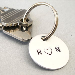 Couples Personalised Key Ring