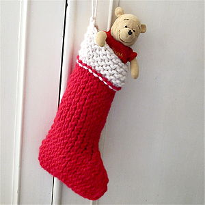 Christmas Stocking Knit Your Own Kit