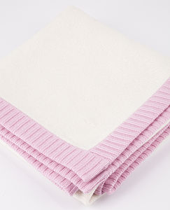 100% Cashmere/Cotton Baby Blanket - blankets, comforters & throws