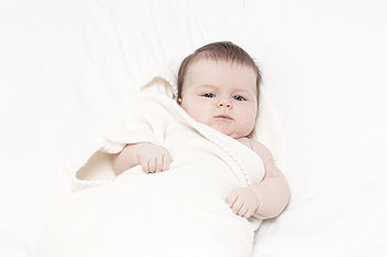 100% Pure Cashmere Baby Blanket