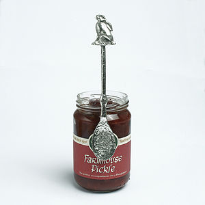 Moon Gazing Hare Jam Jar Spoon, Hare Gifts