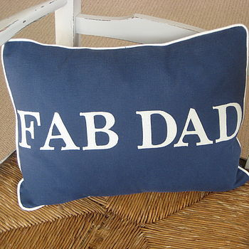 'Fab Dad' Cushion