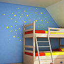 Child's Star Wall Sticker Set