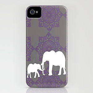Mama And Me Elephant Case For IPhone - bags & purses