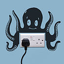 Octopus Power Socket Wall Sticker