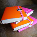 Neon Leather Notebook