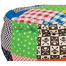 Child's Patchwork Pouffe