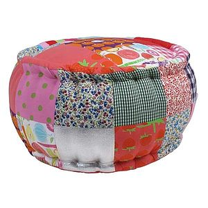 Child's Patchwork Pouffe - furniture