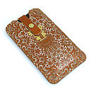Printed Tan Lace Phone Case