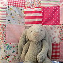 Patchwork Quilt Personalised Girls And Boys